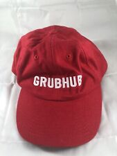 Free Shipping GrubHub Logo Worker Dad Hat clasp Design Buy 3 get the 4th FREE