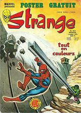 "RARE EO STRANGE N° 103 DE 1978 EDITION LUG + POSTER "" DR. FATALIS """