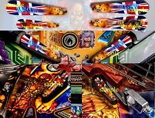 IRON MAIDEN Pinball Flipper Armour (PICK PIC #1 OR PIC #2 OR PIC 3)