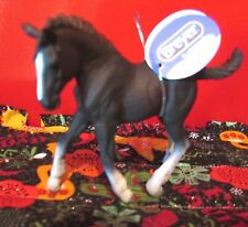 #88583 Corral Pals Black Shire Baby Horse Foal Breyer by Collecta NWTs