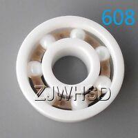 608 Full Ceramic Zirconia Oxide Bearing ZrO2 8 x 22 x 7mm Skateboard Skate