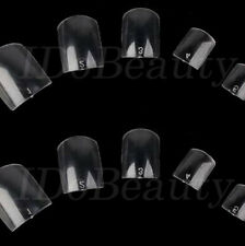 100 BUDGET CLEAR TOES FALSE NAIL TIPS SIZES IDEAL REPLACEMENT FOR LOST TOE NAILS