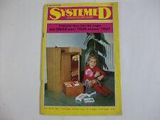 SYSTEME D N°288 JANVIER 1970 COFFRE A JOUETS GUERIDON FER FORGE CHARIOT DE GARAG