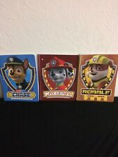 NEW PAW PATROL  Lot of 3 Spiral Notebooks: Chase, Marshall & Rubble