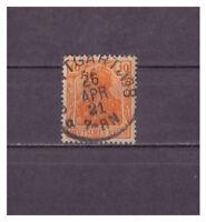 Deutsches Reich, MiNr. 141 Vollstempel K 1 Stuttgart 1921