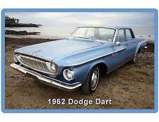 1962 Dodge Dart Blue  Auto Refrigerator / Tool Box Magnet