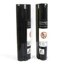 2 x 3.0AH Stick Style 9.6V 9.6 VOLT NI-MH 9000 Battery for MAKITA Cordless Tools
