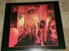 W.A.S.P. digipak cd LIVE...IN THE RAW 4 bonus tracks madfish free US shipping