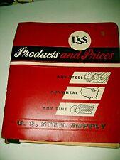 1950s-60s U.S. STEEL SUPPY FULL LINE CATALOG