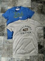 Lot Of 2 Abercrombie And Fitch Mens medium Muscle T Shirt