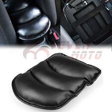 Black Car Center Console Armrest Storage Box Pad Cover Cushion Cowl Fit Honda FM