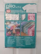 New listing Pliio by f.h.e Clothing Management System Set Of 9 Clothing Filers