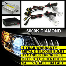 FOR FORD FOCUS C-MAX S-MAX MAIN BEAM H1 CANBUS XENON HID CONVERSION KIT 6000K