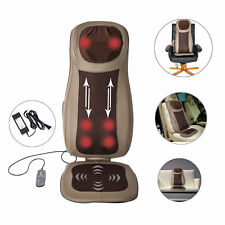 Massage Cushion Kneading Neck Thigh Shoulder Massager Heat Vibrat Car Chair Home
