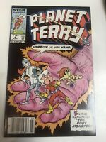 Planet Terry (1985) # 4 (NM) Canadian Price Variant CPV ! Rare !