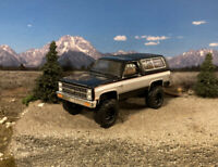 1981 Chevy Blazer K5 4x4 Lifted Custom 1/64 Diecast Truck Farm Off Road Mud 4WD