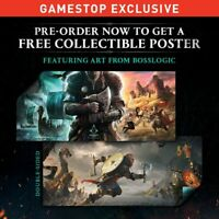 Assassin's Creed Valhalla Promo Poster GameStop PREORDER Exclusive NEW