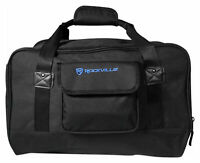 """Rockville Weather Proof Speaker Bag Carry Case For Behringer MPA200BT 8"""" Speaker"""