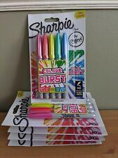 Sharpie Permanent Marker Pens - Fine Point - Colour Burst Bundle 5 Packs 25 Pens