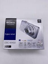 Sony Cyber-shot DSC-WX50 Digital Camera - Silver BRAND NEW SEALED