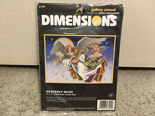 Dimensions Angel Heavenly Music Gallery Crewel Embroidery Kit