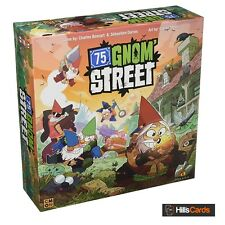 75 Gnom' Street Board Game - Lead Your Gang of Gnomes in a Backyard Turf War!
