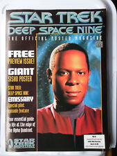 More details for star trek deep space nine official poster book no 0 posters giant sisko poster