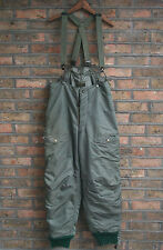 VTG 50s US AIR FORCE KOREAN WAR F-1B AIR CREW FLIGHT PANT TROUSERS SKYLINE W34