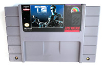 T2 Terminator 2 Judgement Day SUPER NINTENDO SNES GAME Tested Working AUTHENTIC!
