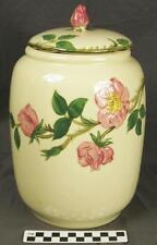 Vintage USA Made Franciscan Desert Rose Cookie Jar with Lid 1963-1970 (HH)