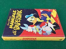Walt Disney - MANUALE DI PAPERINIK , Mondadori (1977) Libro illustrato