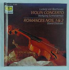 Beethoven-Violin Concerto + Romances # 1 & 2/Oistrakh DG Full Silver No IFPI PDO