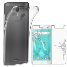 ebestStar VERRE Trempé+ Coque Gel Wiko Jerry /Lenny /Sunny /Tommy 2 3 4 5 Plus