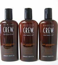 American Crew Daily Moisturizing Shampoo for All Hair Types 8.4 oz - PACK OF 3