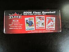 2006 Fleer Baseball Factory seald set
