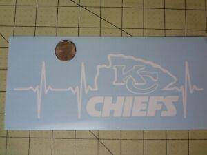 Kansas City Chiefs Life car decal
