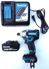 Makita XWT11 18V ½ 3-Speed Impact Wrench, (1) BL1830 Battery 18 Volt, 1) Charger