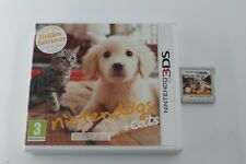 NINTENDO 3DS N3DS NINTENDOGS + CATS SIN MANUAL PAL ESPAÑA