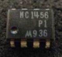 HIGH PERFORMANCE 4PCS MC1456P Encapsulation:DIP,INTERNALLY COMPENSATED
