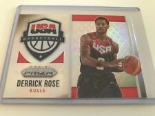Panini Refractor Derrick Rose Basketball Trading Cards
