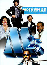 MOTOWN 25 YESTERDAY, TODAY, FOREVER (DVD, 2014, 1 Disc Set) NEW