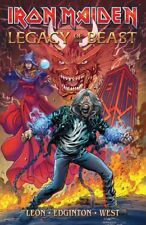 Iron Maiden Legacy of the Beast Comic all 5 issues in a single volume  - New