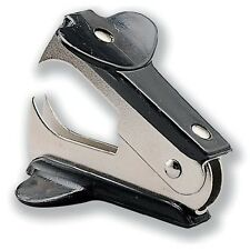 Staple Remover Extractor Metal Removes Staples Black - Same Day Dispatch