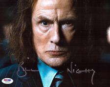 Bill Nighy signed 8x10 autograph PSA/DNA COA JSA Harry Potter Love Actually
