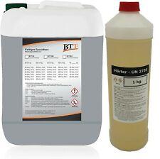 BTT-BI - RAL 7040 Fenstergrau Epoxidharz Garagenfarbe Bodenlack Epoxy für 50m²