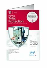 McAfee Total Protection 2015 Retail key Card 3PCs Free Update to 2016 Version