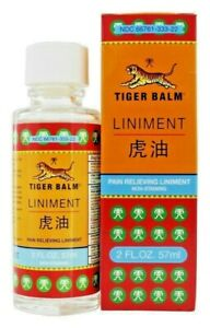 1 pc of Tiger Balm Liniment Penetrating Pain Relieving 2 oz/ 57 ml