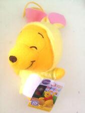 Disney Winnie the Pool Mini Doll Pink Rabbit Dress Costume with strip