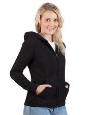 Abrigos y chaquetas de mujer polar de poliéster de color principal negro