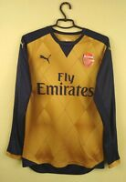 Arsenal London jersey shirt 2015/2016 Away puma soccer football long sl. size S